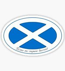 The Saltire  Sticker