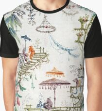 Enchanted Forest Chinoiserie Graphic T-Shirt
