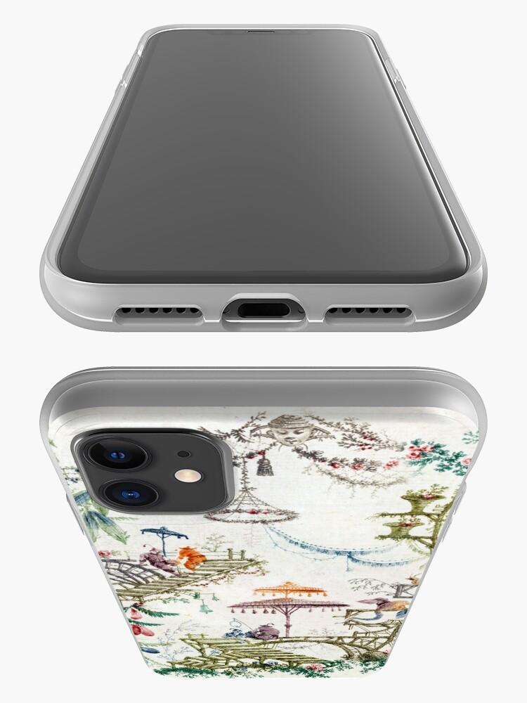 Alternative Ansicht von Verzauberter Wald Chinoiserie iPhone-Hülle & Cover