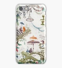 Enchanted Forest Chinoiserie iPhone Case/Skin