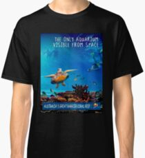 AUSTRALIA: Great Barrier Coral Reef Print Classic T-Shirt