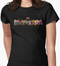 Super Street Fighter 2 Womens Fitted T-Shirt