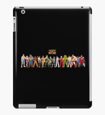 Super Street Fighter 2 iPad Case/Skin