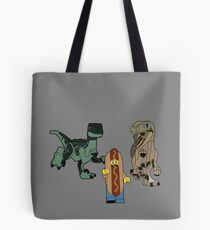 Catching Lunch redux Tote Bag