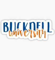 Bucknell University - Style 1 Sticker