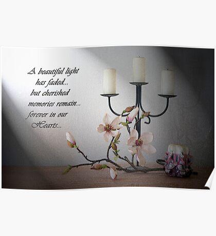 Bereavement Card Poster