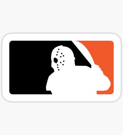 Jason Baseball Sticker