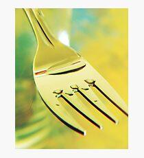 Fork Photographic Print