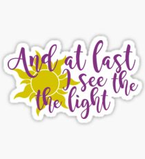 I See the Light Sticker