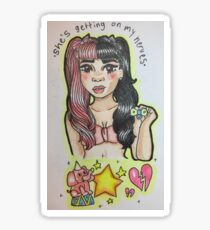 Melanie Martinez-Pacify Her Sticker