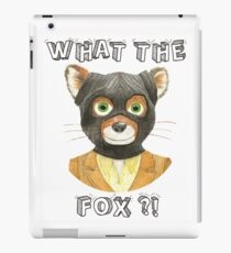 Mr Fantastic - Fantastic Mr Fox, What The Fox ?! iPad Case/Skin