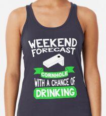 5b2064039a4 Funny Cornhole Shirt Women s Tank Top