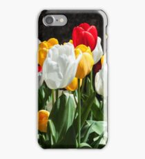Field of Tulips Photography Print iPhone Case/Skin