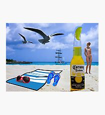 Summer Sun, Waves and Suds Photographic Print