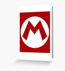 """""""M"""" Logo Greeting Card"""