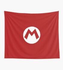 """M"" Logo Wall Tapestry"