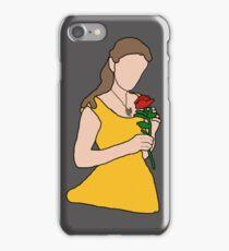 Minimalist Belle - Emma Watson iPhone Case/Skin