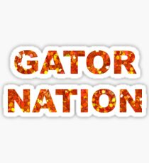 Gator Nation Sticker