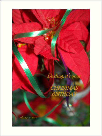 Christmas Birthday  by Amedori