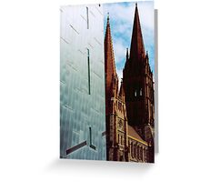 Federation square Melbourne Greeting Card