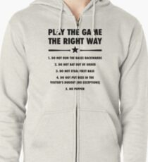 The Right Way Zipped Hoodie