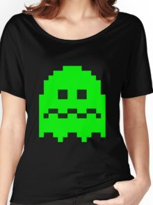 Pixel Ghost Women's Relaxed Fit T-Shirt