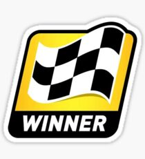 NASCAR Cup Series Winner Sticker Sticker