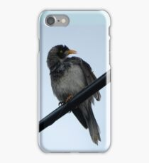 Bird on the wire, Colour  iPhone Case/Skin