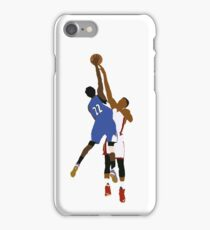 Andrew Wiggins Dunk On Hassan Whiteside  iPhone Case/Skin