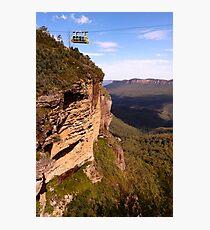 Blue Mountains Cablecar Photographic Print