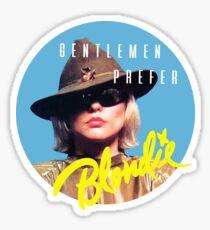 Gentlemen Prefer BLONDIE Sticker