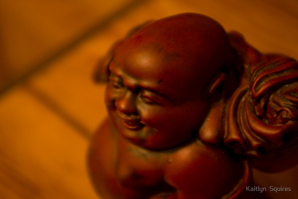 Traveling Buddha by Kaitlyn  Squires