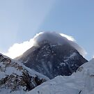 Sagarmāthā (Mt. Everest) 8848 from Kala Patthar 5643 by MichaelBr