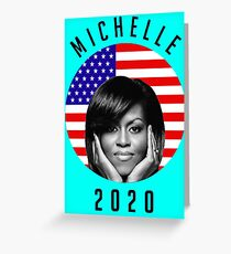 michelle 2020 Greeting Card