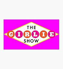 30ROCK - The Girlie Show Photographic Print