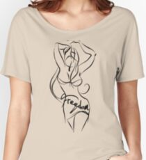 freedom liberty sexy girl  Women's Relaxed Fit T-Shirt