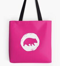 Wombat Alley Weiß Tote Bag