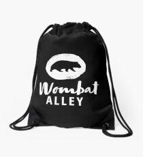 Wombat Alley Weiß Turnbeutel