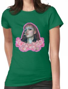 Grunge Grimes Womens Fitted T-Shirt
