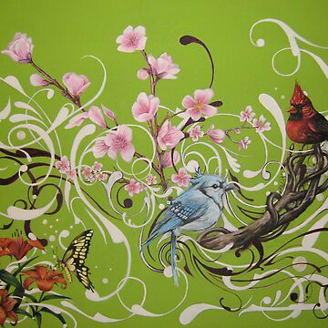 Four Seasons by kelvinlee