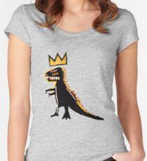 Basquiat Women's Fitted Scoop T-Shirt