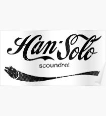 Han Solo scoundrel Poster