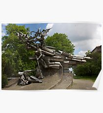 Monument to the Defenders of the Polish Post Office Poster