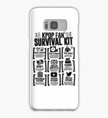 A KPOP FAN'S SURVIVAL KIT (Whiter Ver.) Samsung Galaxy Case/Skin