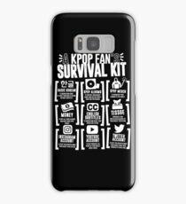 A KPOP FAN'S SURVIVAL KIT (Black Ver.) Samsung Galaxy Case/Skin