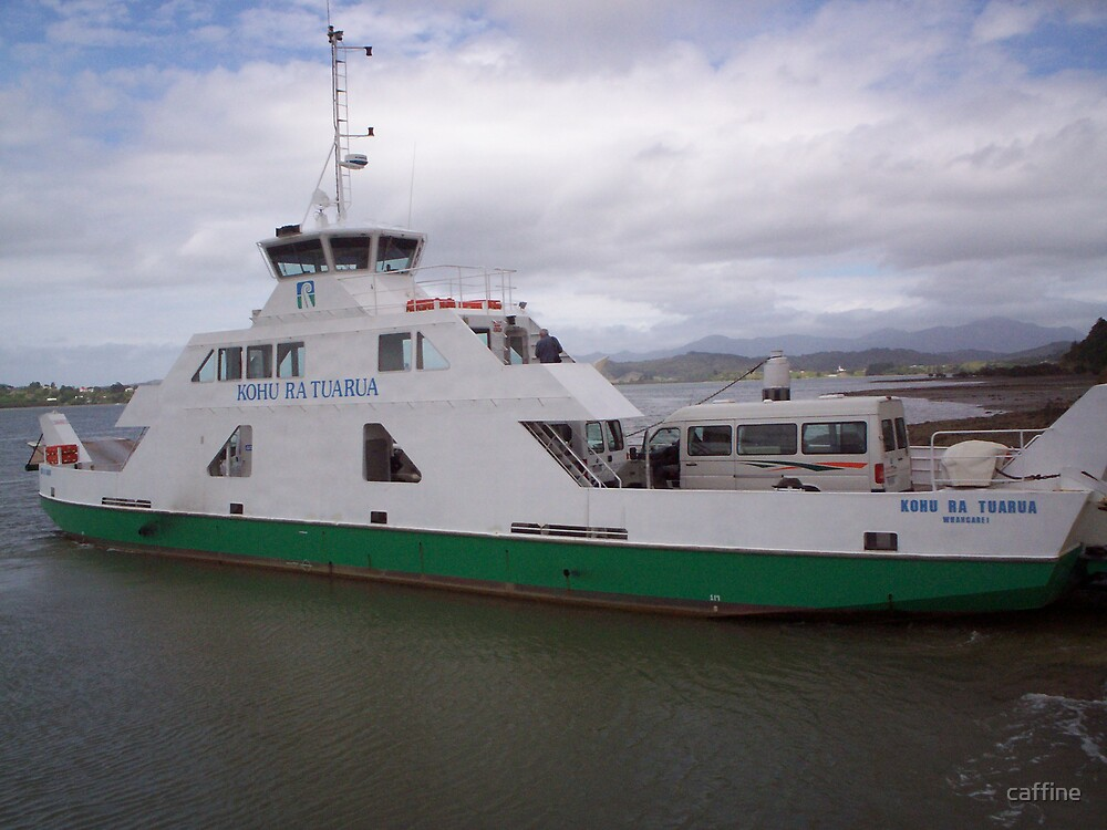 Hokianga Vehicle and foot traffic Ferry by caffine