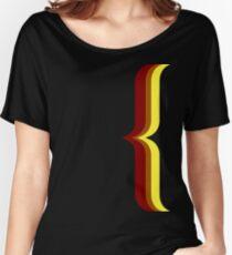 Bracket - Brown Women's Relaxed Fit T-Shirt