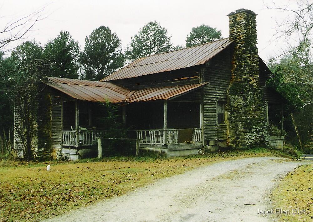 Historical Homesite by Janet Ellen Lusk