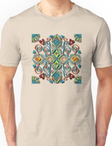 Line Drawing Bright Pattern Unisex T-Shirt