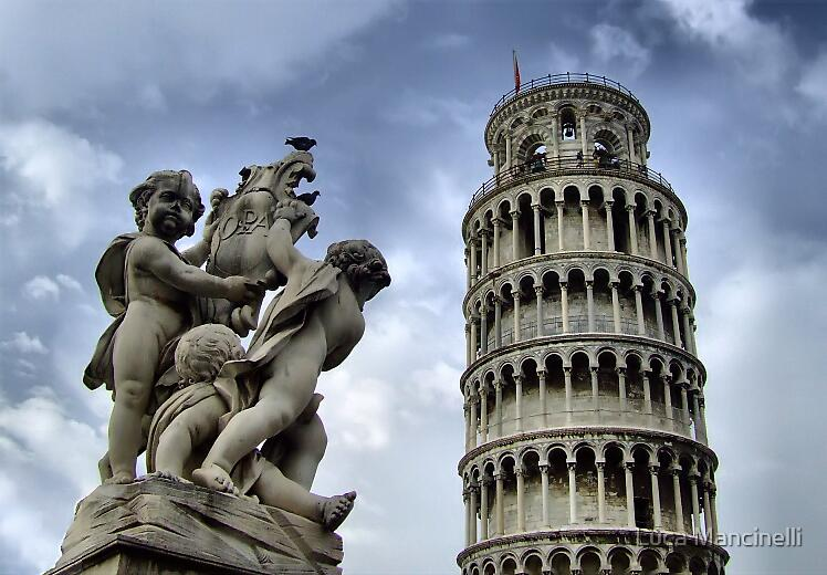 The Leaning Tower by Luca Mancinelli